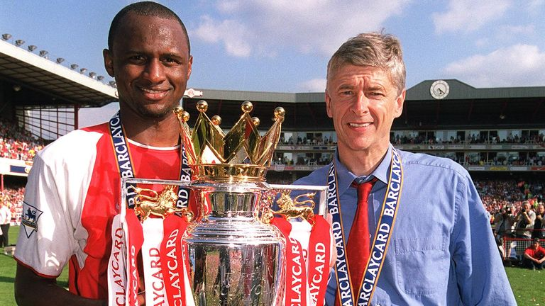 Arsene Wenger won seven major trophies as Arsenal boss during his 10 years coaching at Highbury