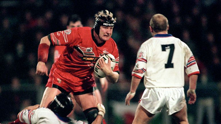 Paul Moriarty was one of Wales' mid-1990s cross-code stars