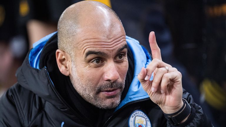 Guardiola's managerial spell at City is the longest of his career