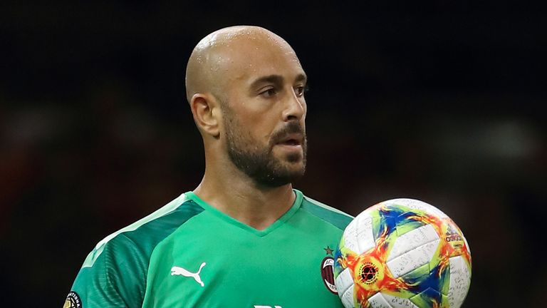Pepe Reina is expected to arrive in Birmingham on Monday for a medical