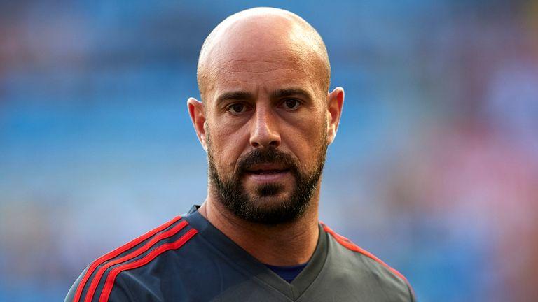 Pepe Reina could make his Villa debut on Saturday