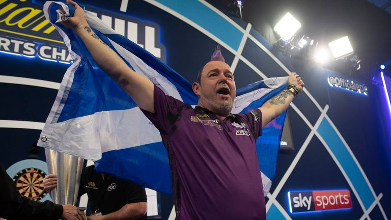 Wright becomes just the second Scotsman to win the PDC World Championship