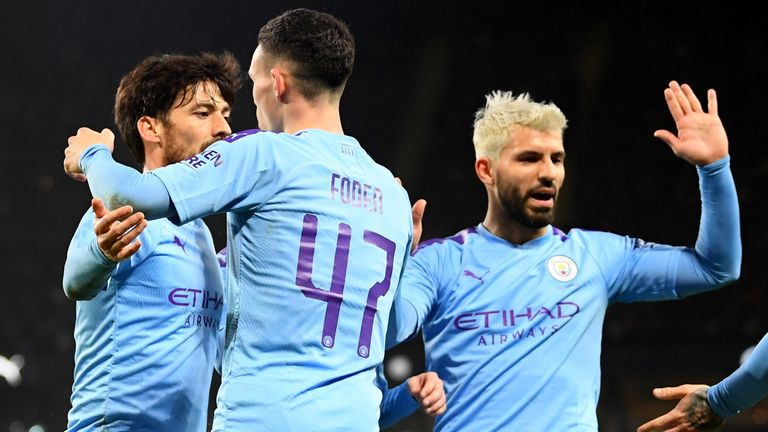Phil Foden was on target as Manchester City thrashed Port Vale