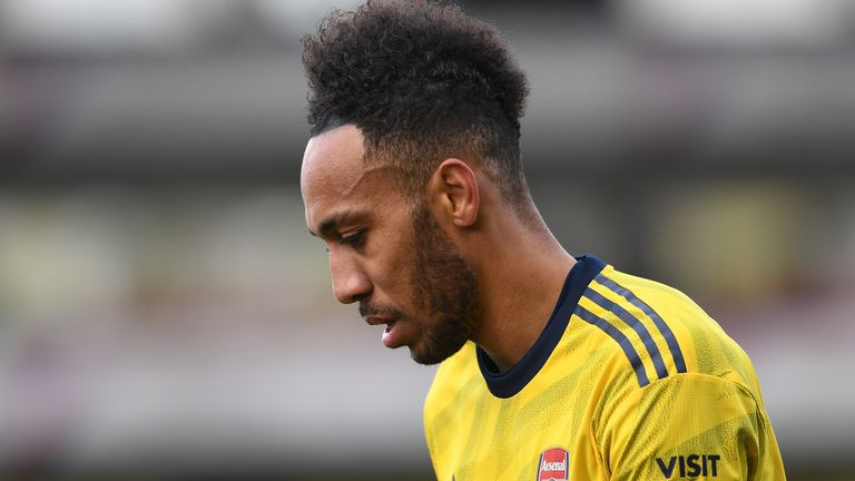 Pierre-Emerick Aubameyang has been linked with a move away from the Emirates