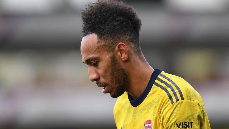 Pierre-Emerick Aubameyang will serve a three-game suspension