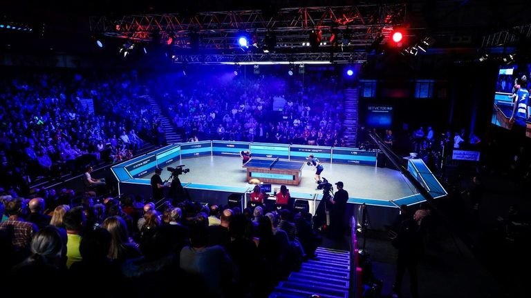 A packed-house at Alexandra Palace enjoyed the thrilling final (Credit: Matchroom Multi Sport)