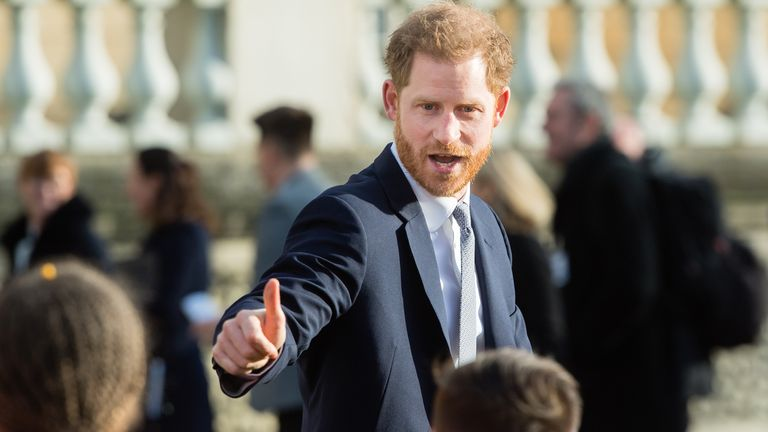 The RFL says it is looking forward to the continuation of its relationship with Prince Harry