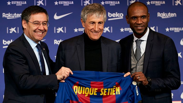 Spanish football expert Graham Hunter says Setien believes in 'beautiful flowing football'