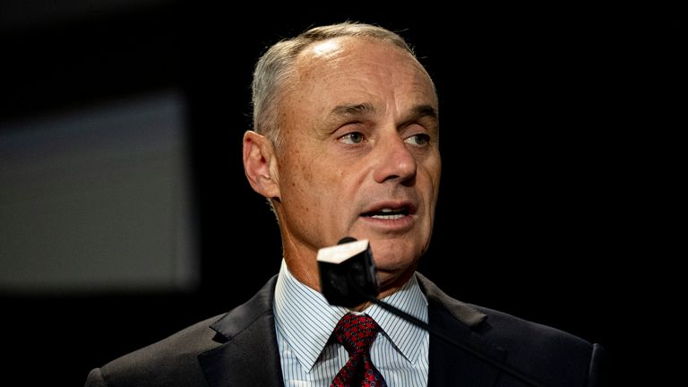 MLB Commissioner Rob Manfred confirmed the pair had been suspended for a year without pay