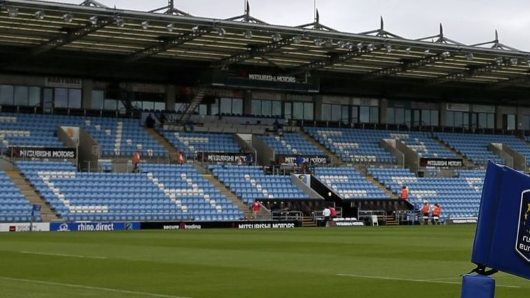 Exeter Chiefs have lost significant income due to the lack of match days at Sandy Park this year