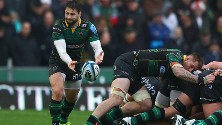 Henry Taylor scored a try in the Saints' bonus point victory