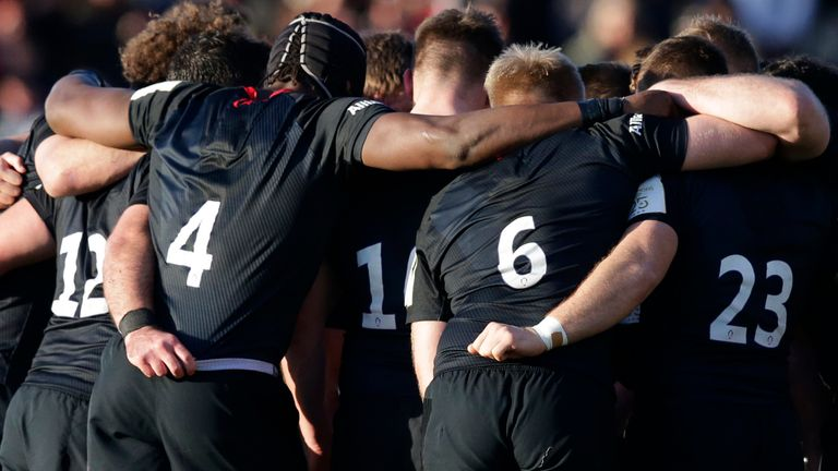 Saracens and their squad will be featuring in their final Premiership game before relegation