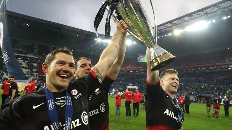 Saracens have also won the Rugby's European Champions Cup in three of the last four seasons