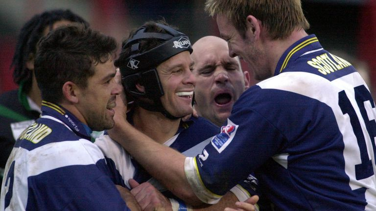 Scotland made their Rugby League World Cup debut in 2000