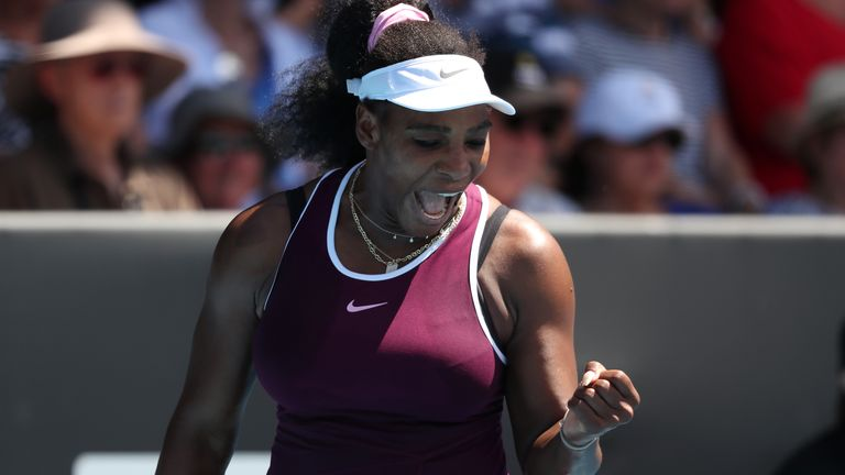 Serena Williams made it through to the quarter-finals of the ASB Classic