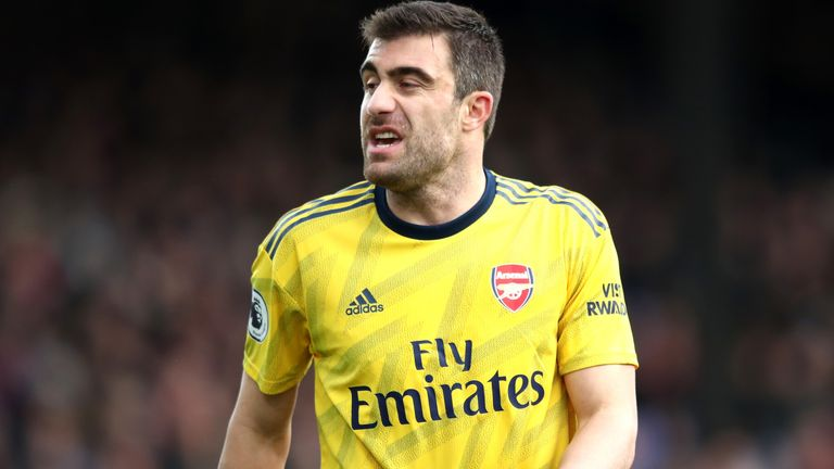 Sokratis will be assessed for Arsenal's FA Cup tie with Bournemouth, following his recent illness