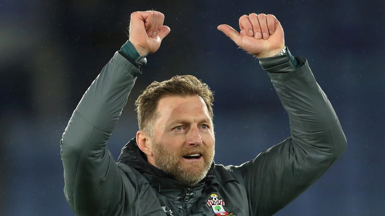 Saints boss Ralph Hasenhuttl is set to sign a new four-year contract on Tuesday