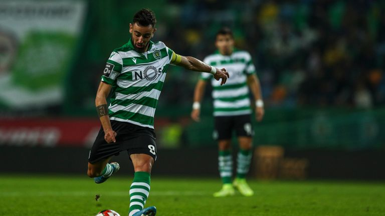 Solskjaer says he was impressed by Fernandes' personality when he want to watch him in person in Lisbon