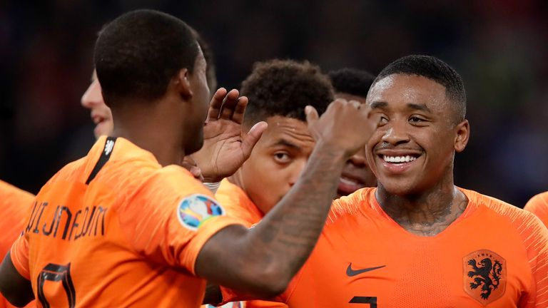 Bergwijn has been capped seven times by the Netherlands
