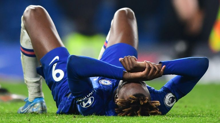 Chelsea's Tammy Abraham is set to be sidelined