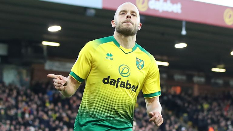 Pukki scored a brilliant hat-trick against Newcastle back in August