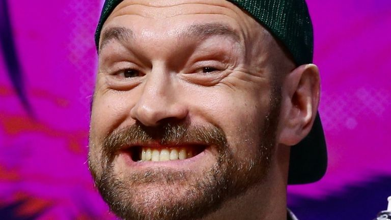 Tyson Fury has traded angry words with Dillian Whyte