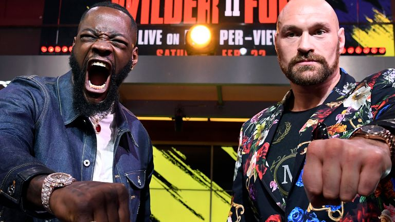 Wilder vs Fury 2 is on February 22