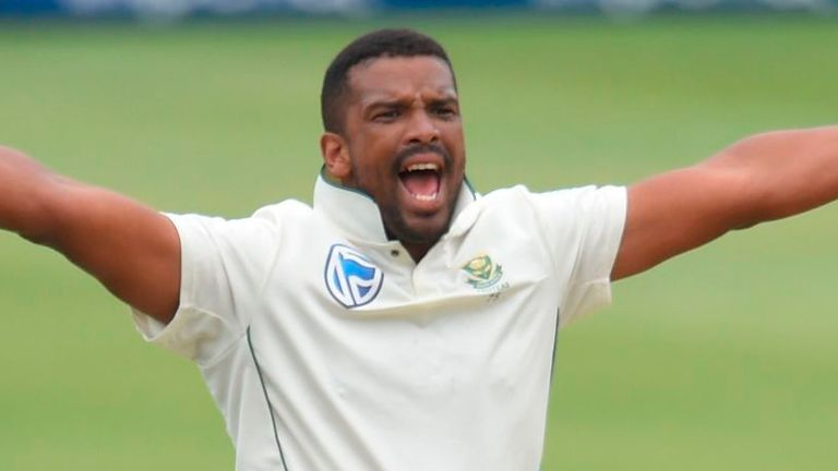 Vernon Philander is playing his final Test for South Africa