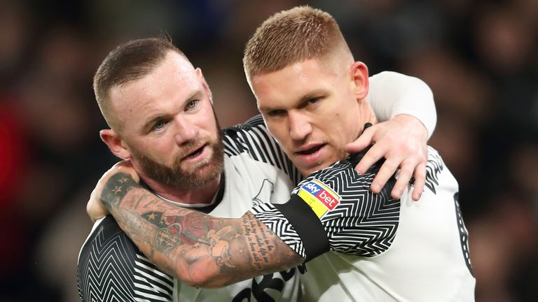 Martyn Waghorn has praised Rooney's 'calm' influence