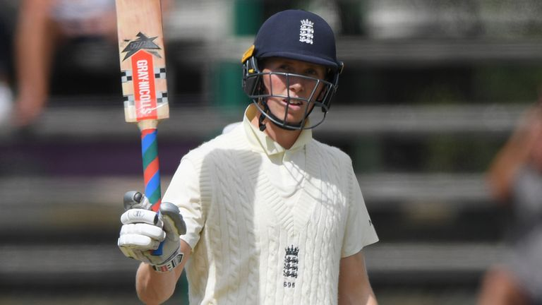 Watch highlights from day one of the fourth Test as England closed on 192-4