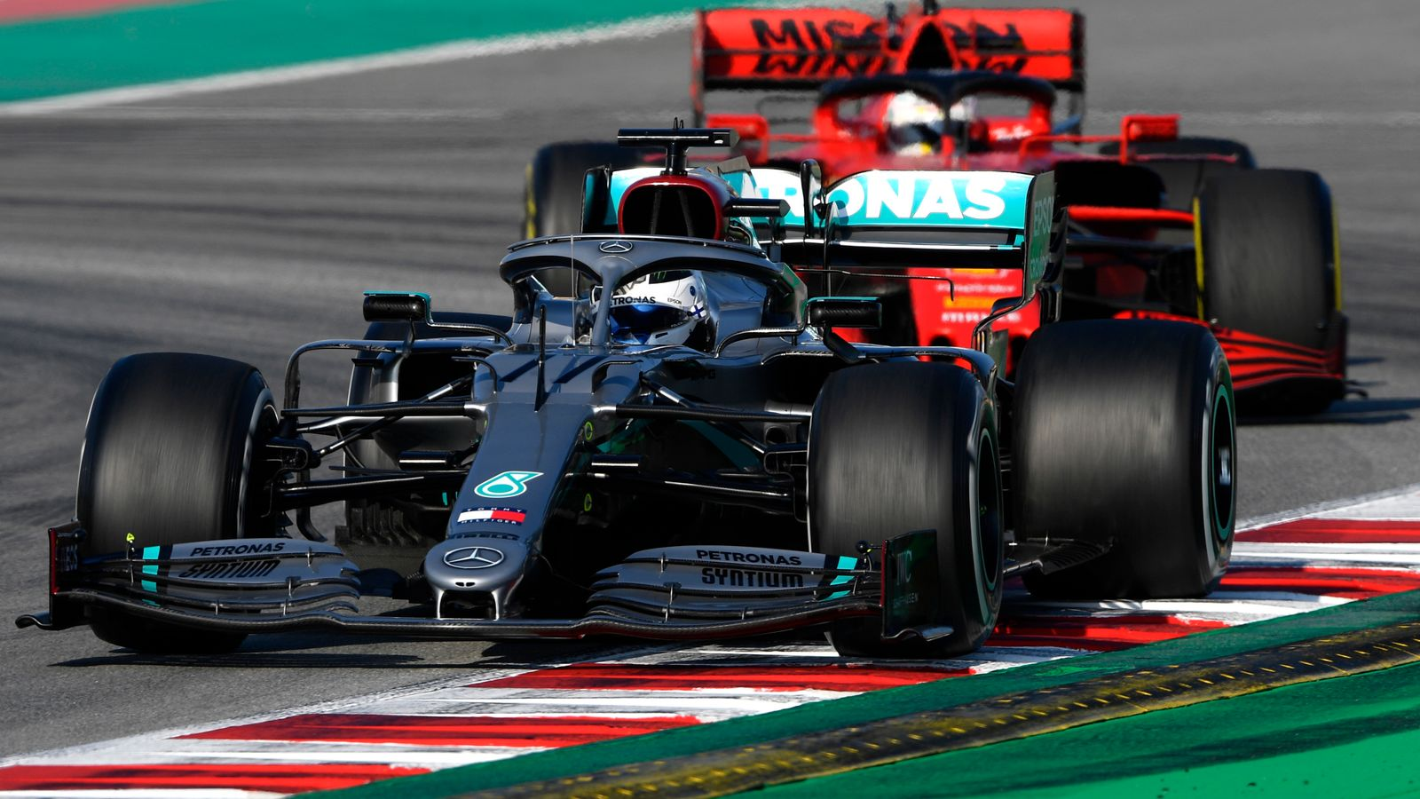 F1 Testing, Day Three AM: Ferrari sidelined as Mercedes up ...