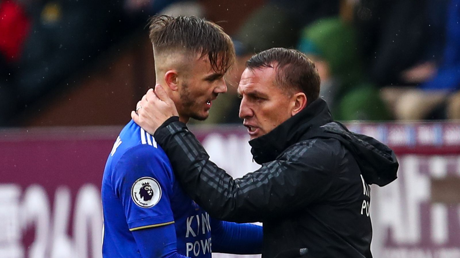 Brendan Rodgers hopeful James Maddison will sign new Leicester deal