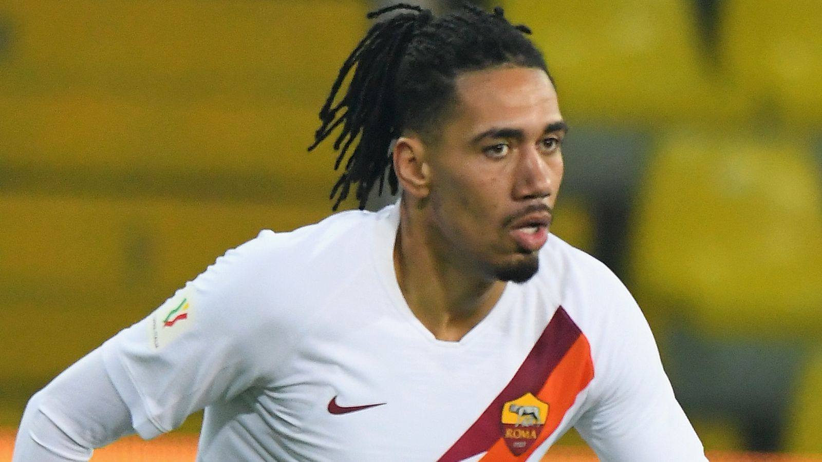 Man Utd's Chris Smalling refuses to give up on England during Roma loan