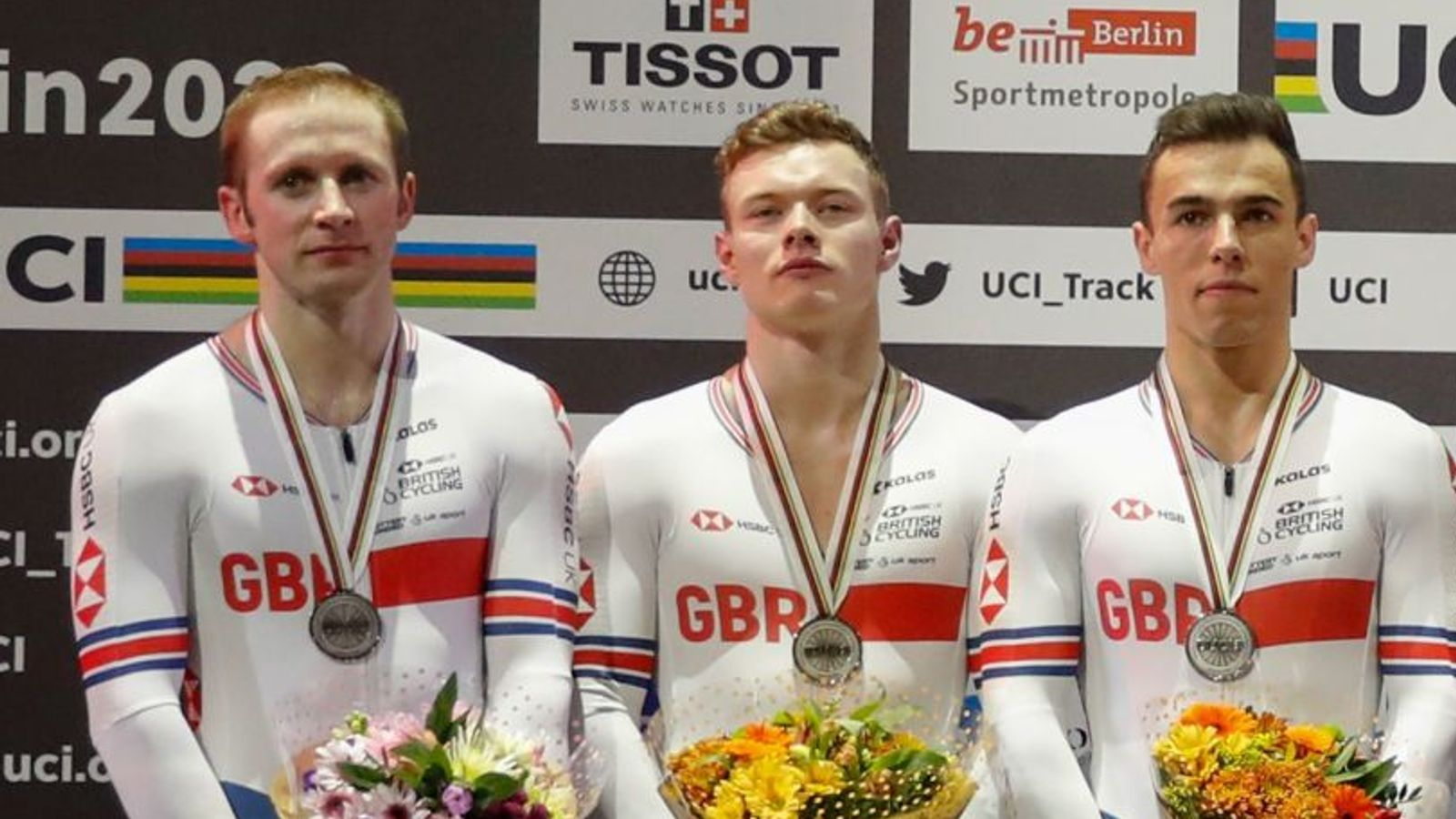GB win Team Sprint silver at Track Cycling World Championships