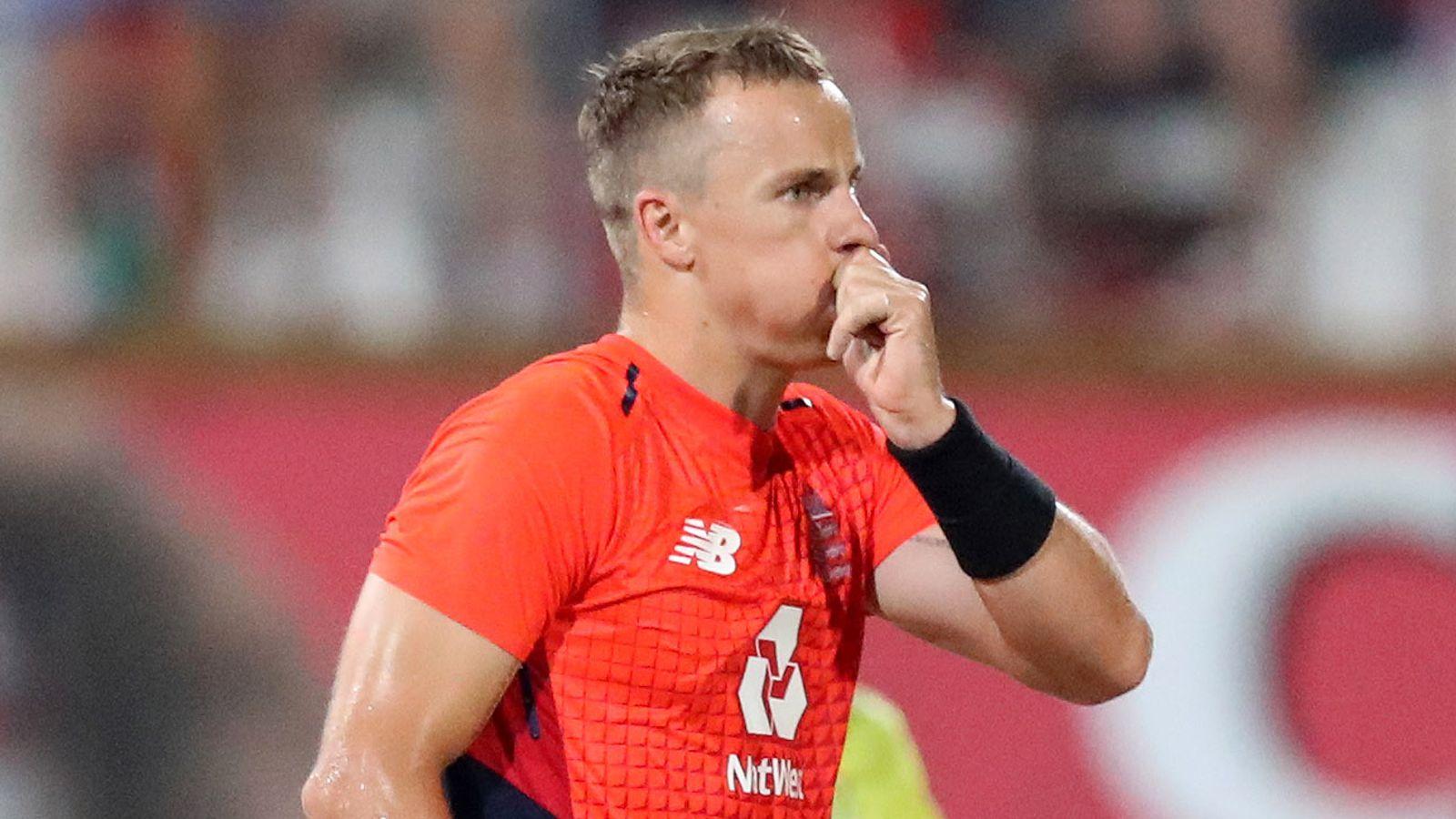Tom Curran 'has a big heart', says England team-mate Chris Jordan