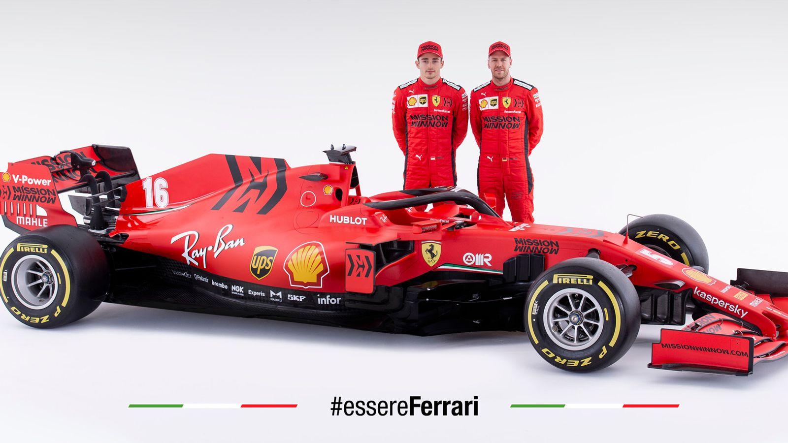 Ferrari unveil 2020 F1 car in dramatic style at SF1000 launch