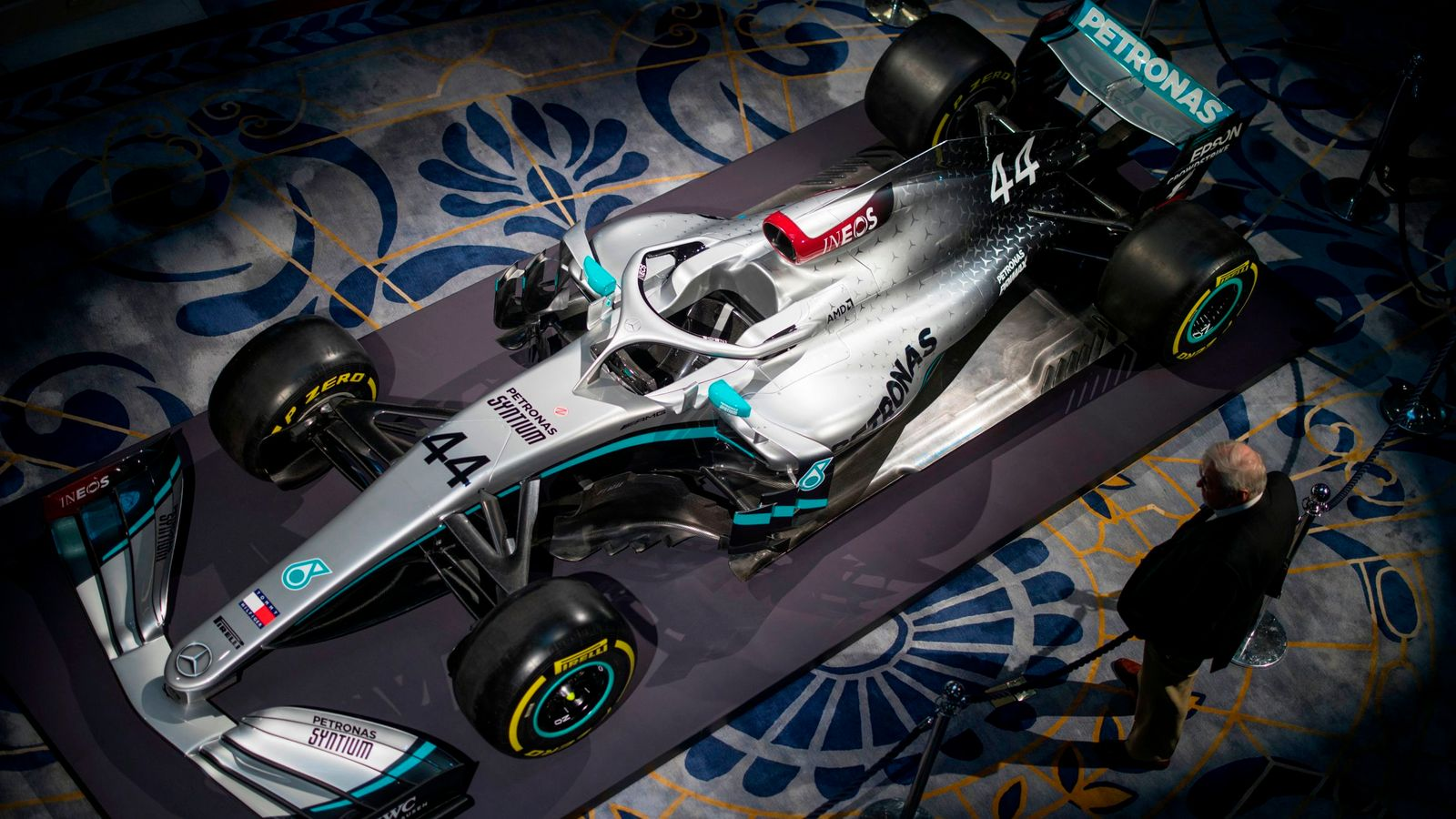 Mercedes reveal new livery for F1 2020 as they add red to Silver