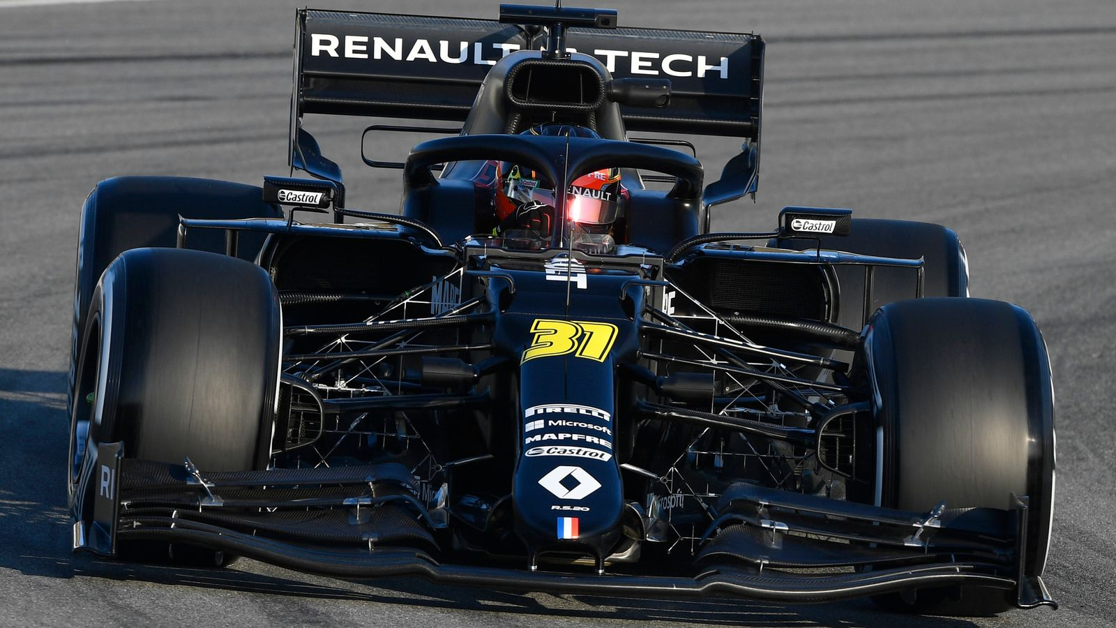 F1 Testing, Day One AM: Valtteri Bottas ahead as 2020 starts fast