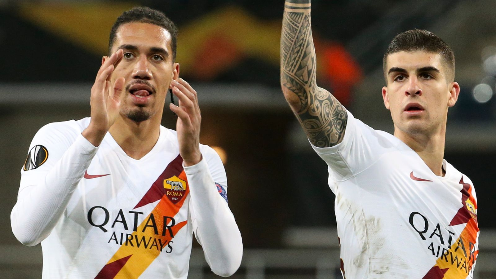 Europa League: Chris Smalling's Roma reach last 16
