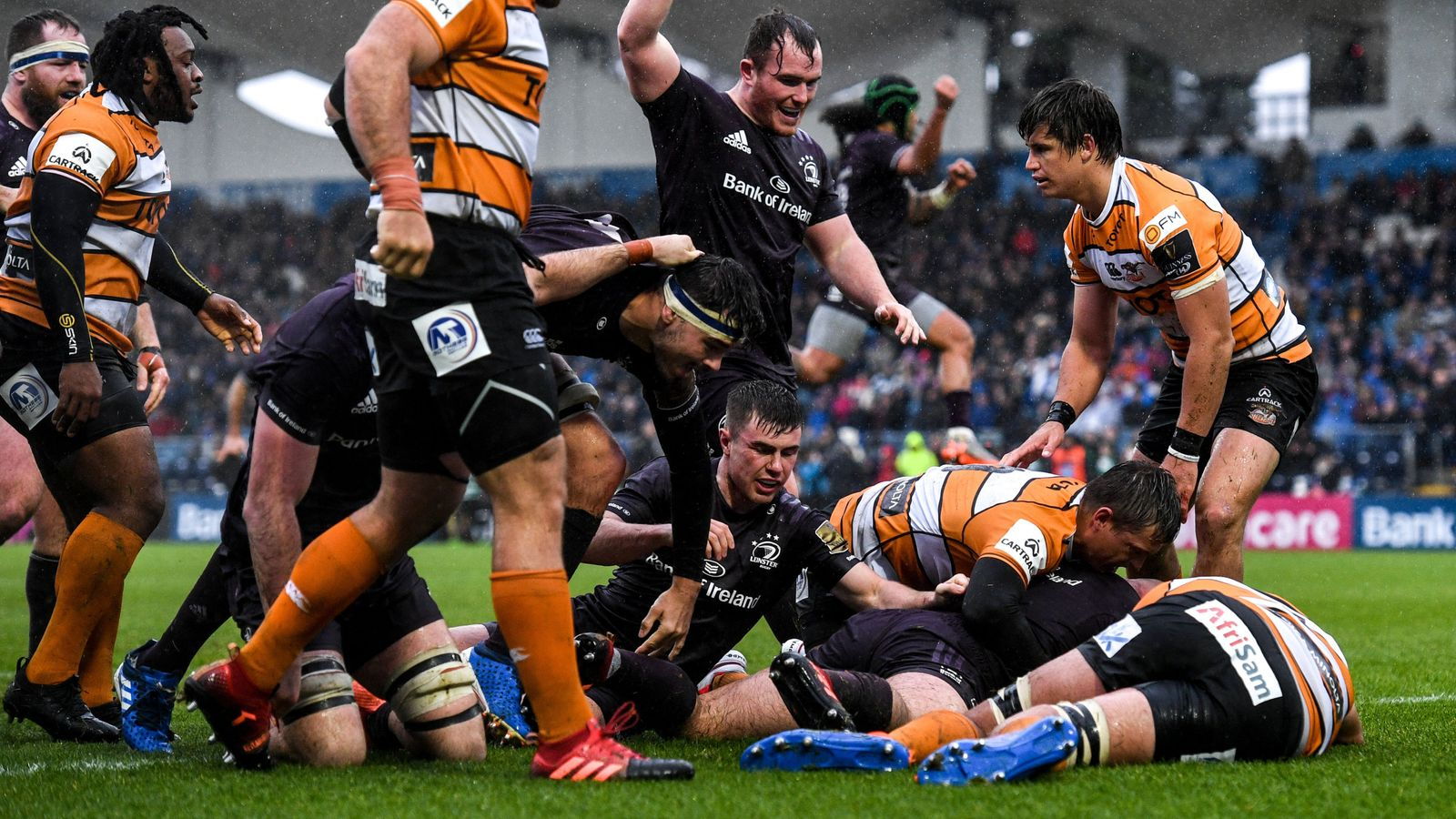 PRO14: Leinster stay unbeaten, Ospreys score rare win