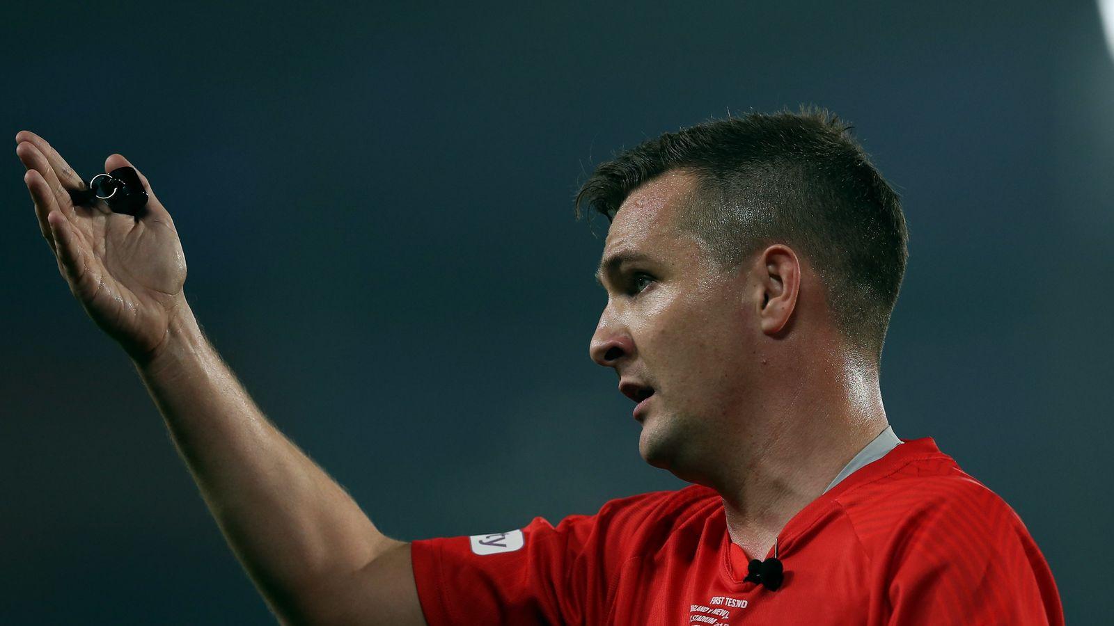 El árbitro de la Super League, Ben Thaler, se libró de cualquier irregularidad después de la suspensión   Noticias de la Liga de Rugby 1