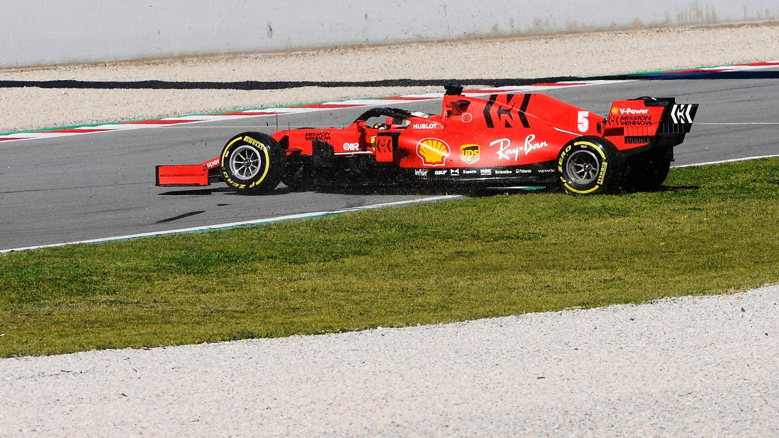 F1 Testing, Test Two Day One AM: Robert Kubica ahead, Sebastian Vettel spins off in Ferrari