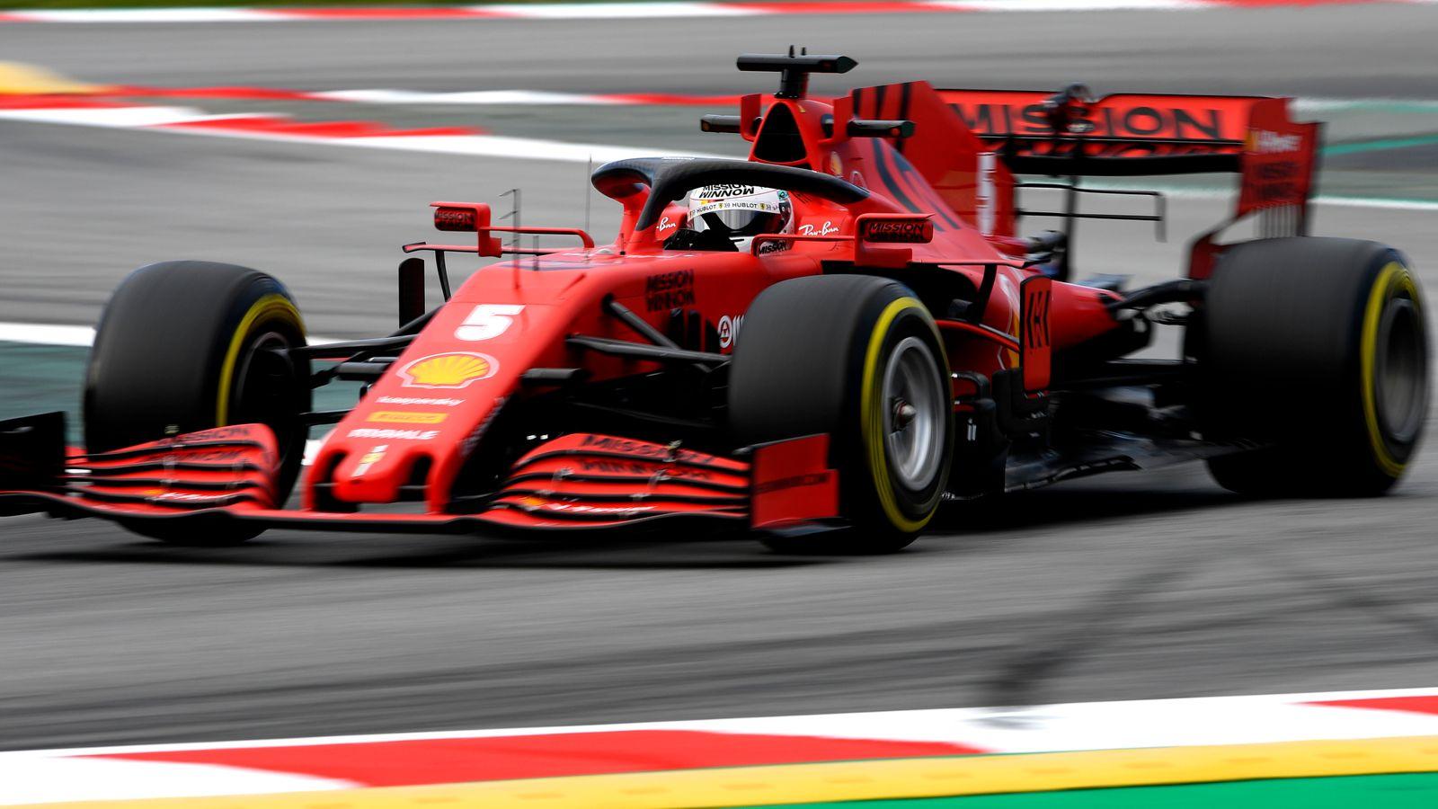 F1 Testing: Test Two Day Two AM: Sebastian Vettel, Ferrari show pace