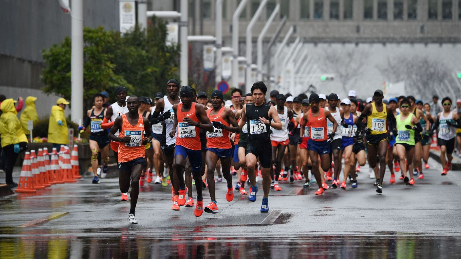 Tokyo Marathon restricted to elite field; 38,000 mass participation runners told to stay at home