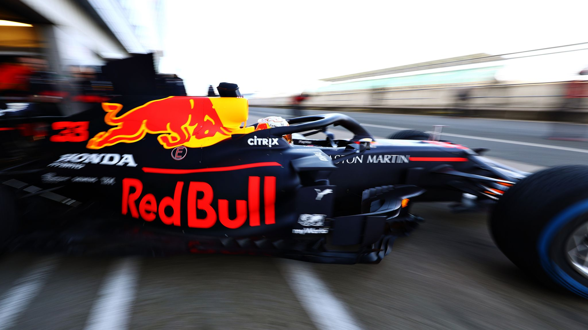 Red Bull Honda S 2020 F1 Car Hailed As Work Of Art After Track Debut F1 News