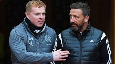 fifa live scores - Celtic boss Neil Lennon praises Aberdeen's Derek McInnes amid supporter criticism
