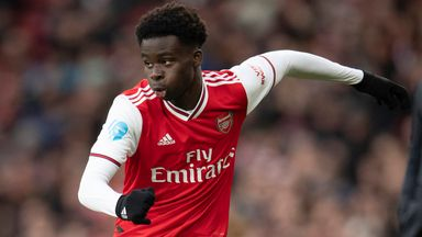 Saka signs new Arsenal deal