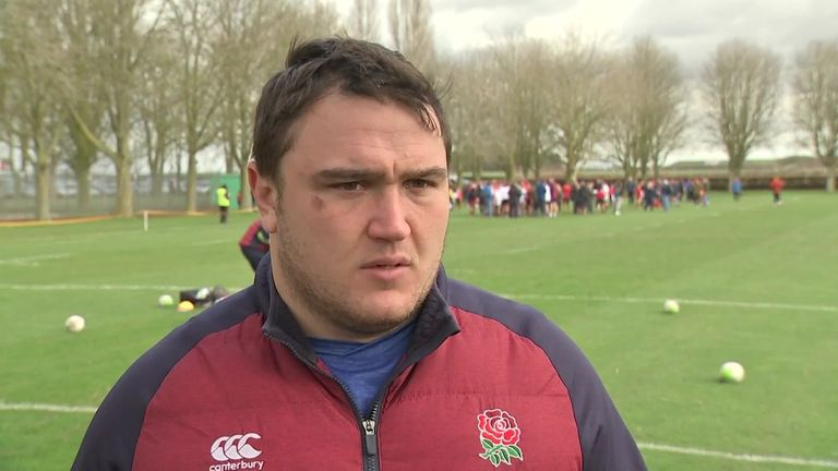 England hooker Jamie George says the players have complete trust in their backroom staff amid the threat of postponements caused by coronavirus