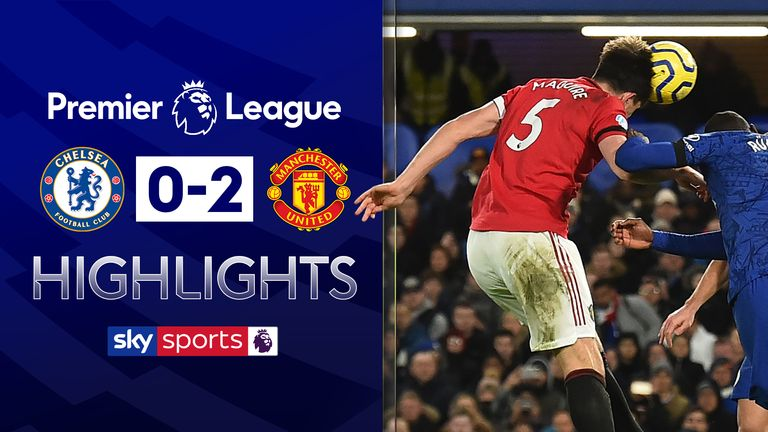 FREE TO WATCH: Highlights from Manchester United's win against Chelsea in the Premier League
