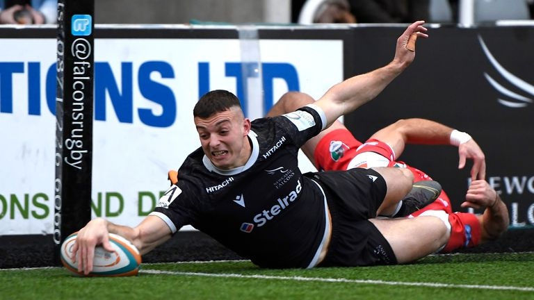 Newcastle Falcons were promoted from the Championship this year